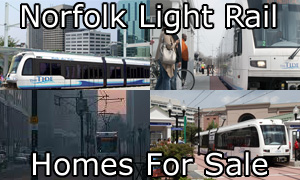Norfolk Light Rail Homes For Sale