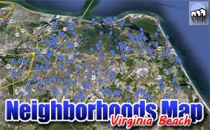 Virginia Beach Neighborhood Site Map