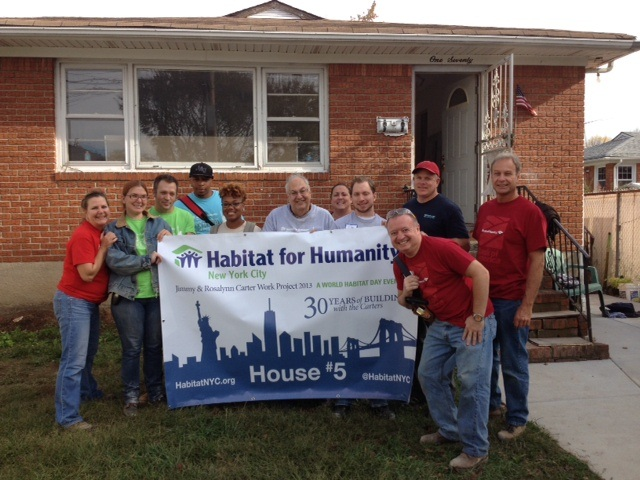 Habitat rebuild in Staten Island NY