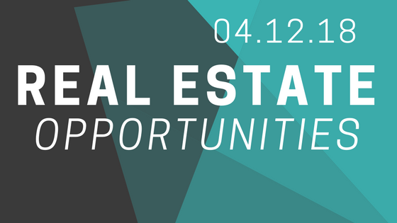 Real Estate Opportunities event coming to Illinois!