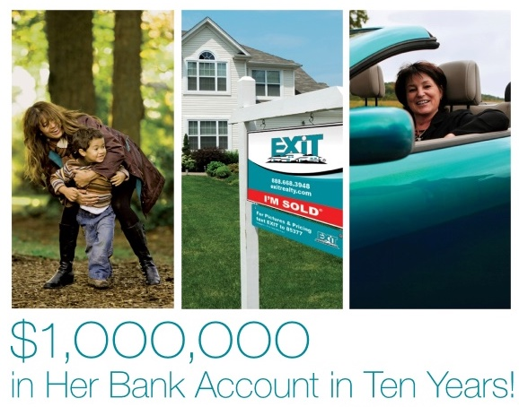 Earn More Equity with EXIT Realty