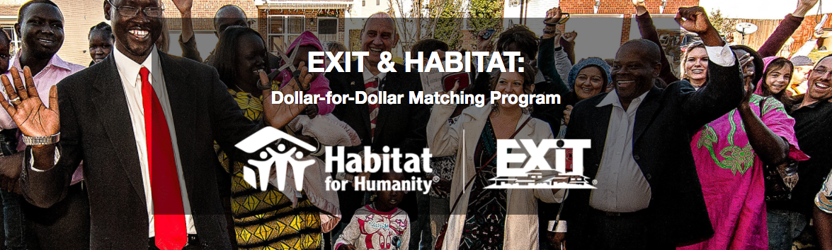Habitat for Humanity and EXIT Realty