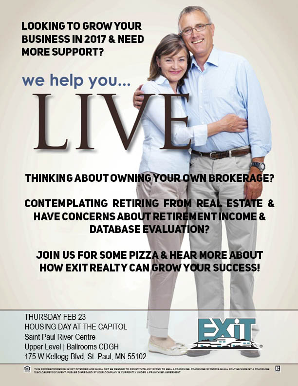 Join Exit Realty Metro for Housing Day at the Capital