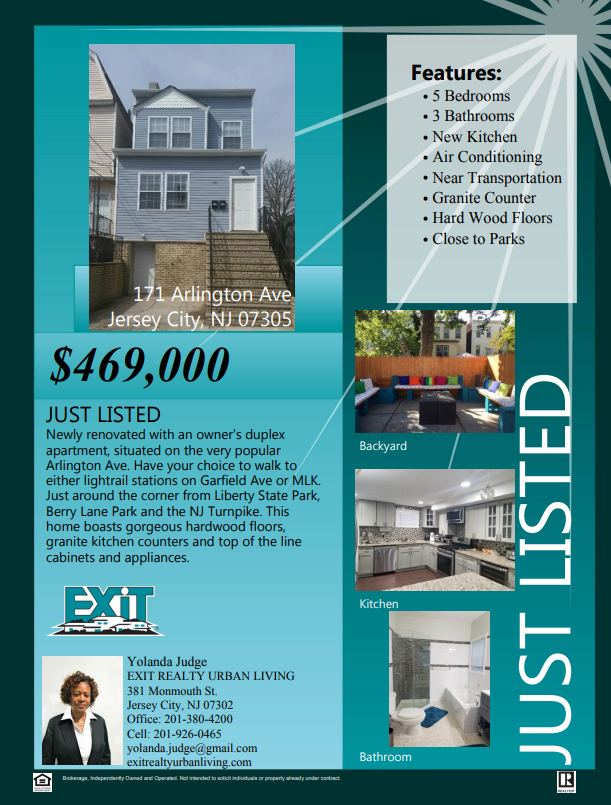 Just Listed Beautiful Newly Renovated 2 Family House