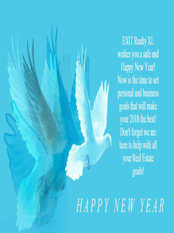 Happy New Year from EXIT Realty XL!!