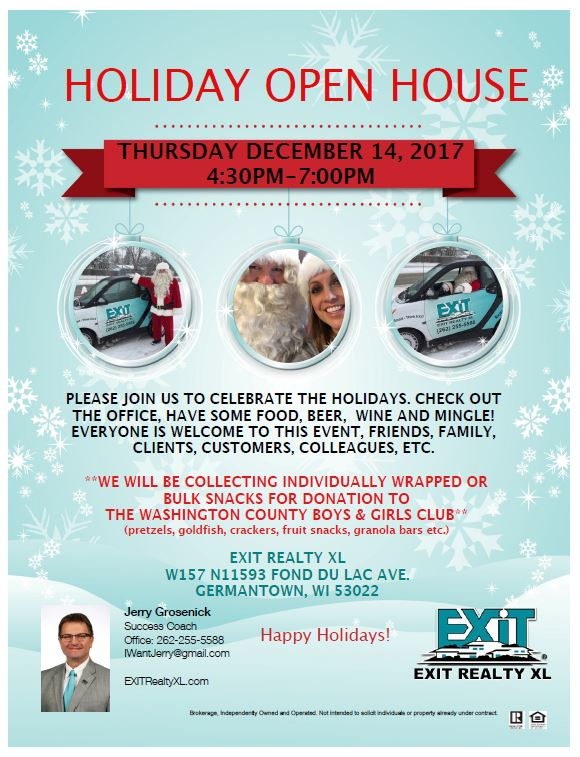 Holiday Open House in Germantown WI!