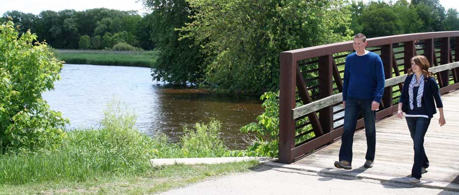 Trails and Recreation in West Bend