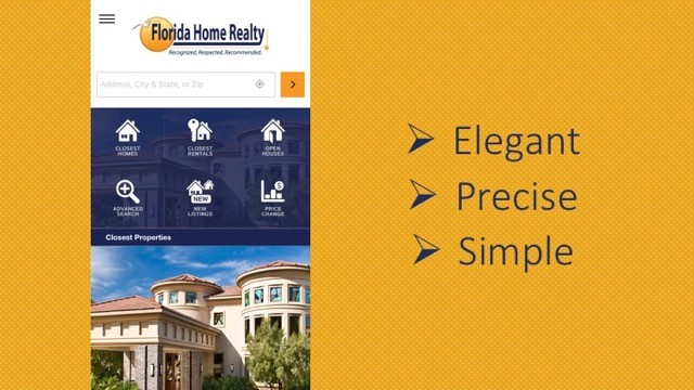 Florida Home Realty Introduces A New App!