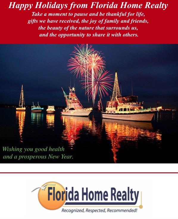 Florida Home Realty Happy Holidays