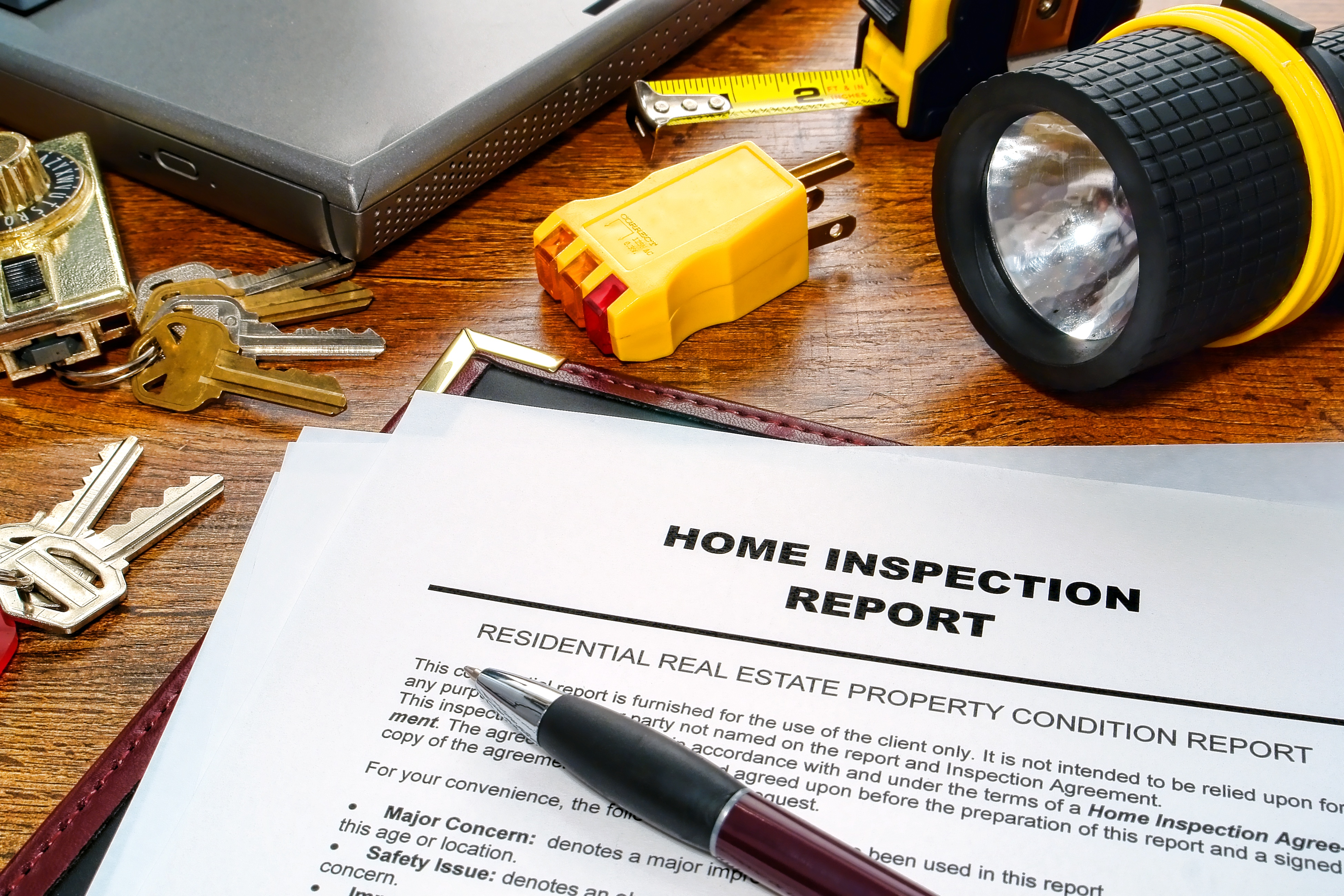 Six Issues To Take Seriously After A Home Inspection.