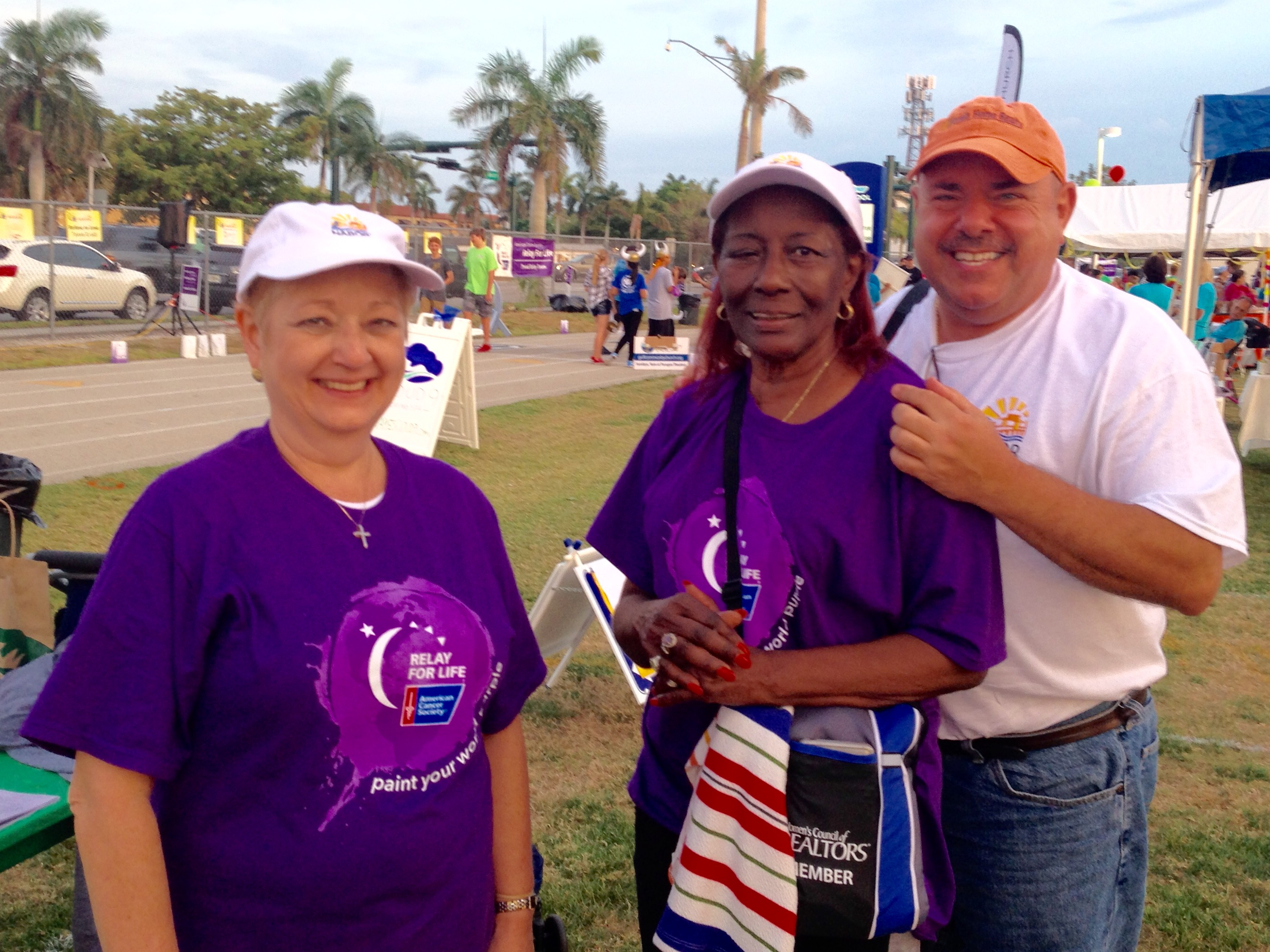 Relay for Life in Naples, FL was a success.