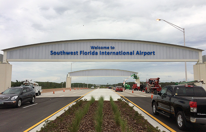SW Florida International Airport....busiest year in its history.