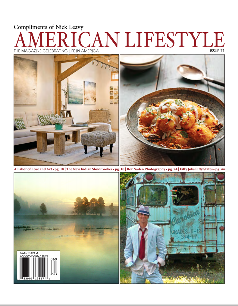 American Lifestyle Aug 2015 Nick Leavy