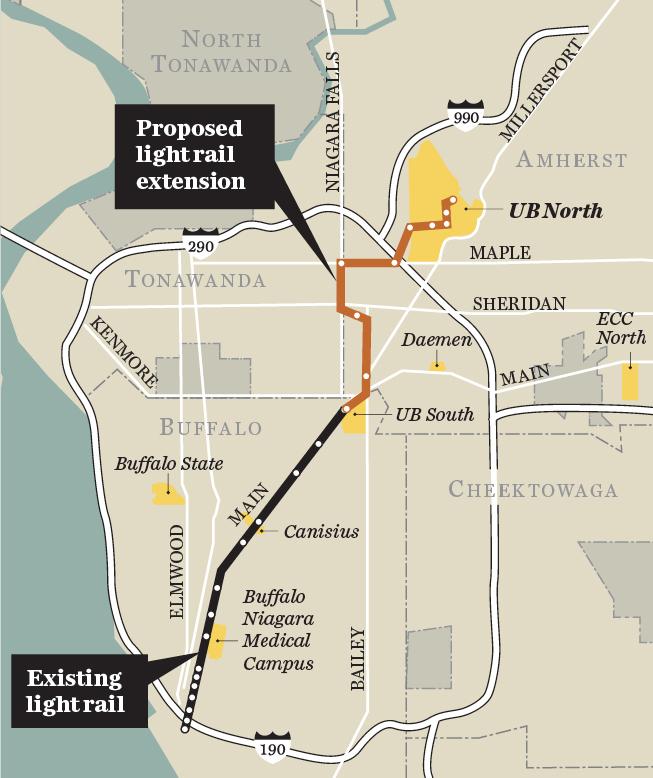 NFTA Proposed Map