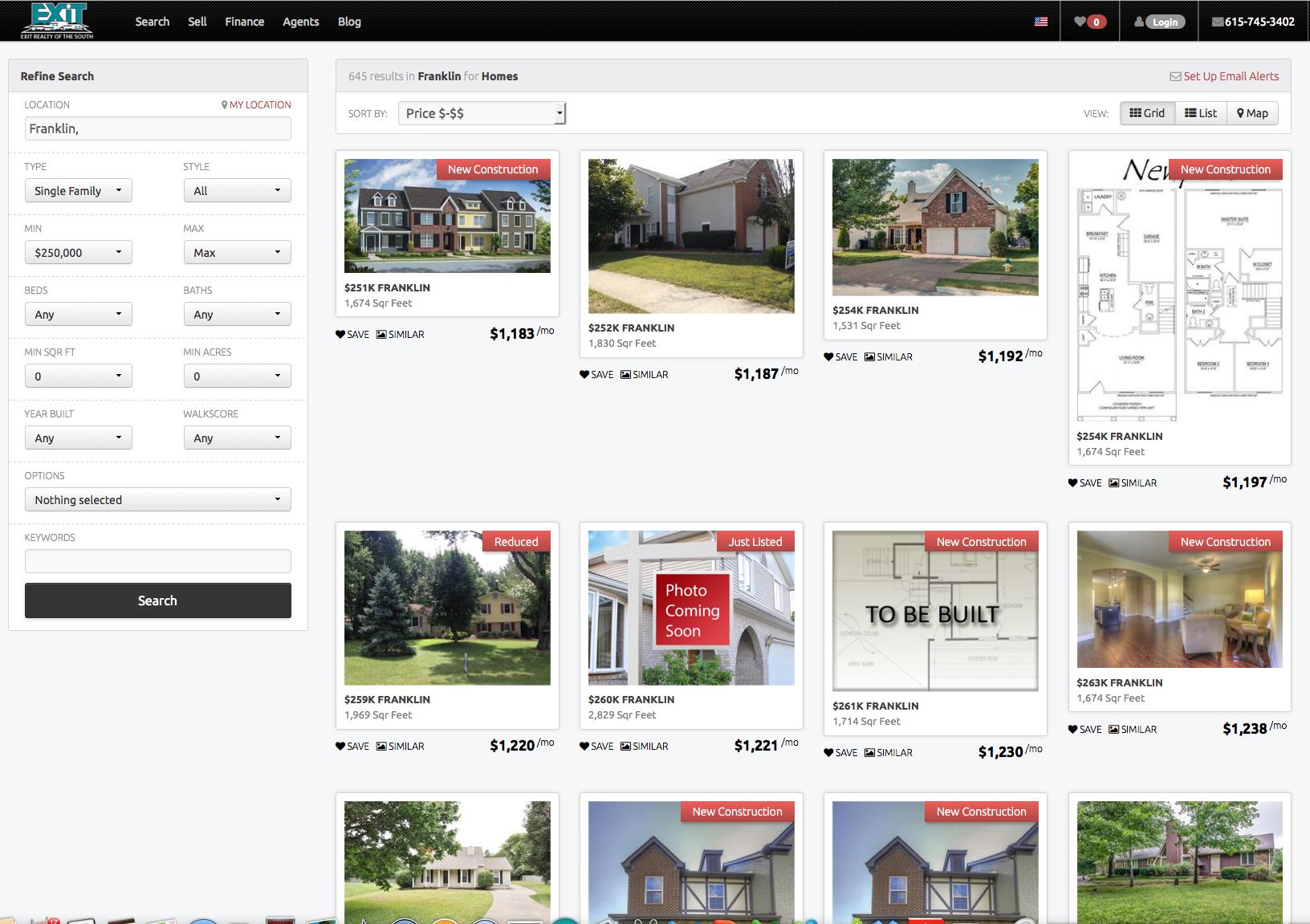 Franklin Homes for sale