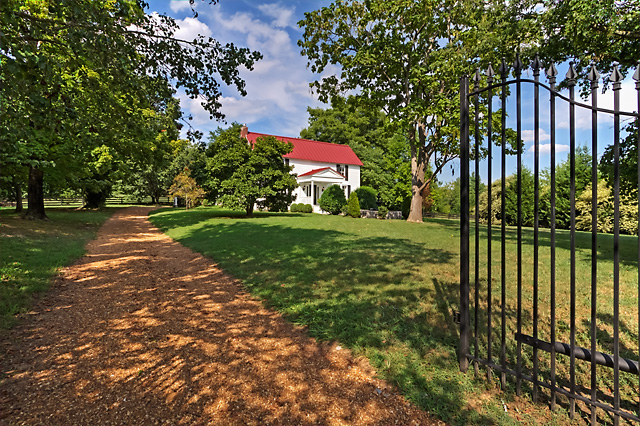 """Price Reduction 9710 Concord Road, Brentwood, TN – ca 1830 The Mulberry Hill """"Ellis House"""""""