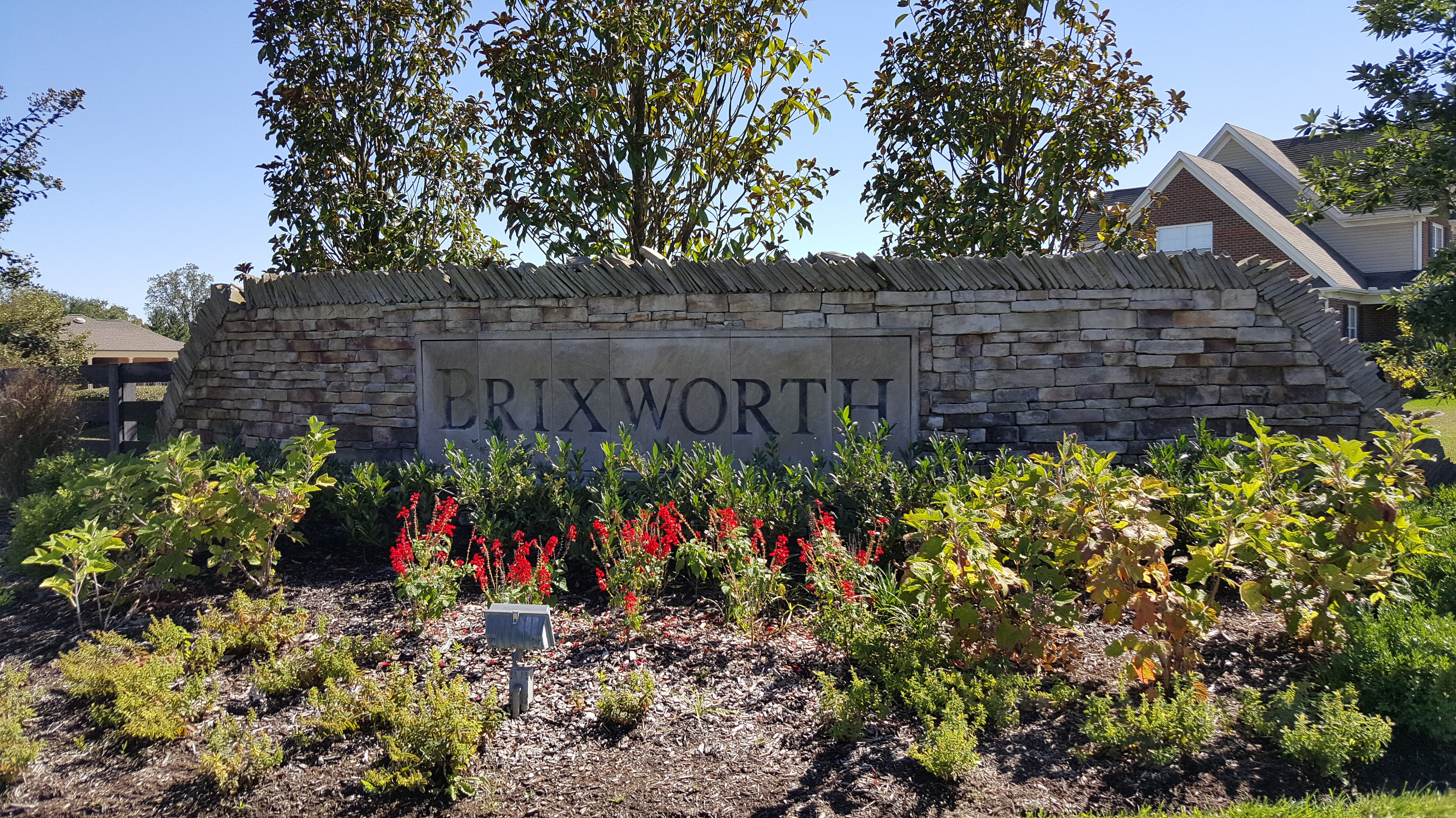 Brixworth Subdivision in Thompson's Station TN