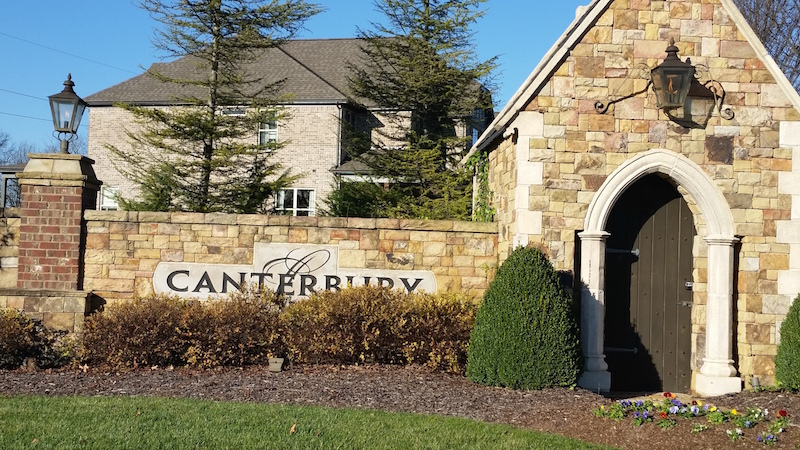 Canterburysubdivision in Thompson's Station homes for sale