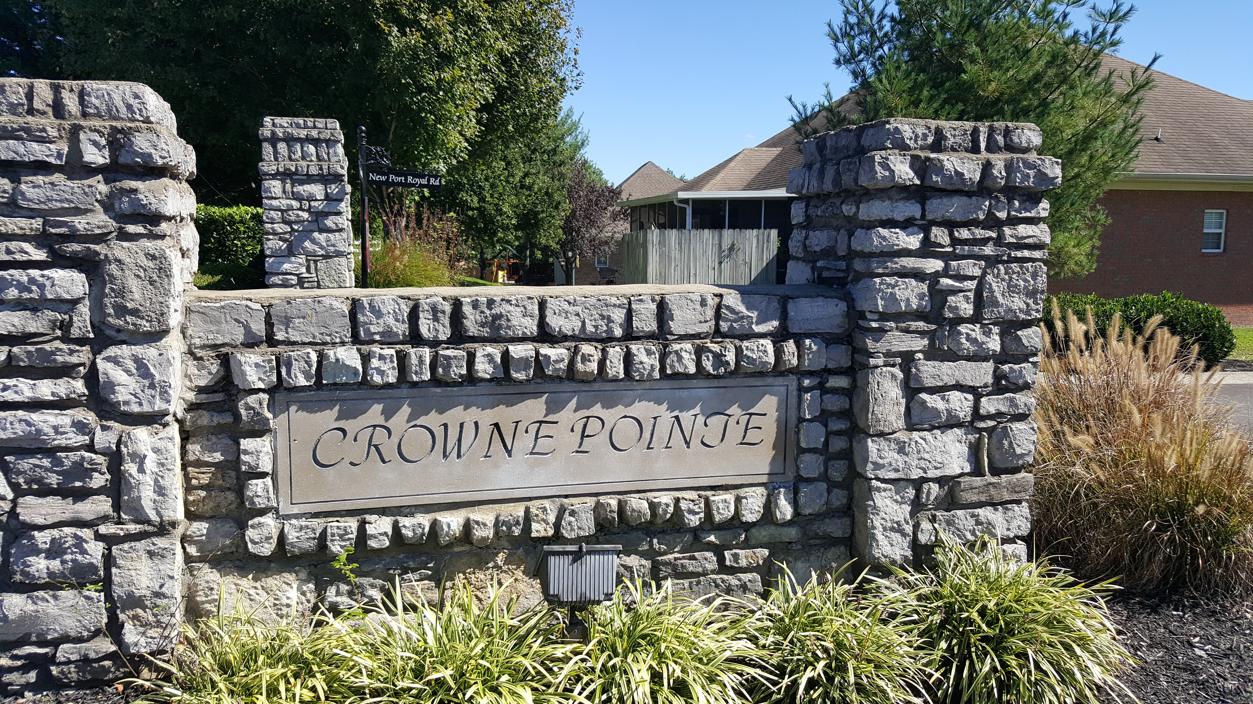 Crowne Pointe subdivision in Thompson's Station homes for sale
