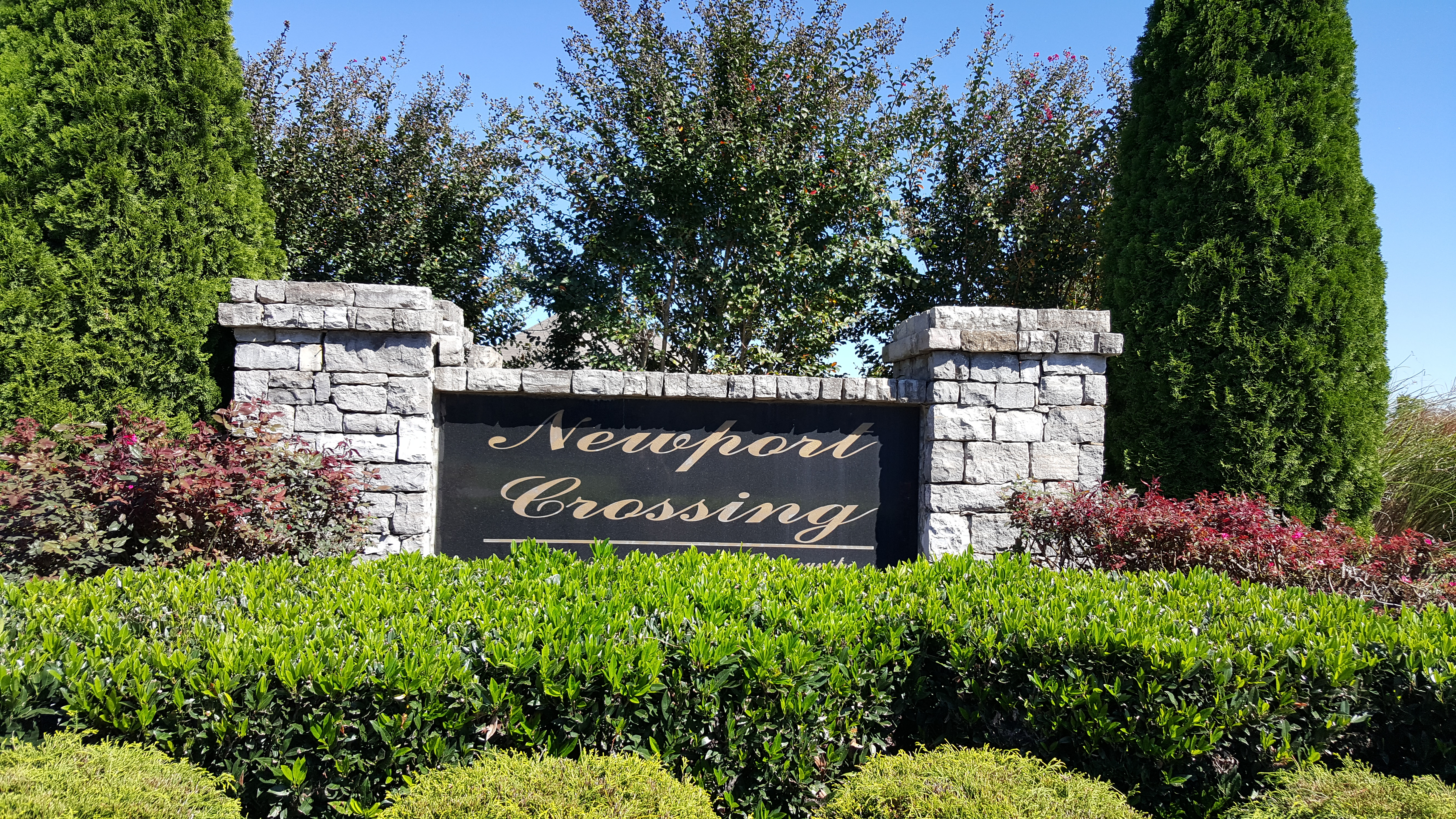 Newport Crossing subdivision in Thompson's Station homes for sale