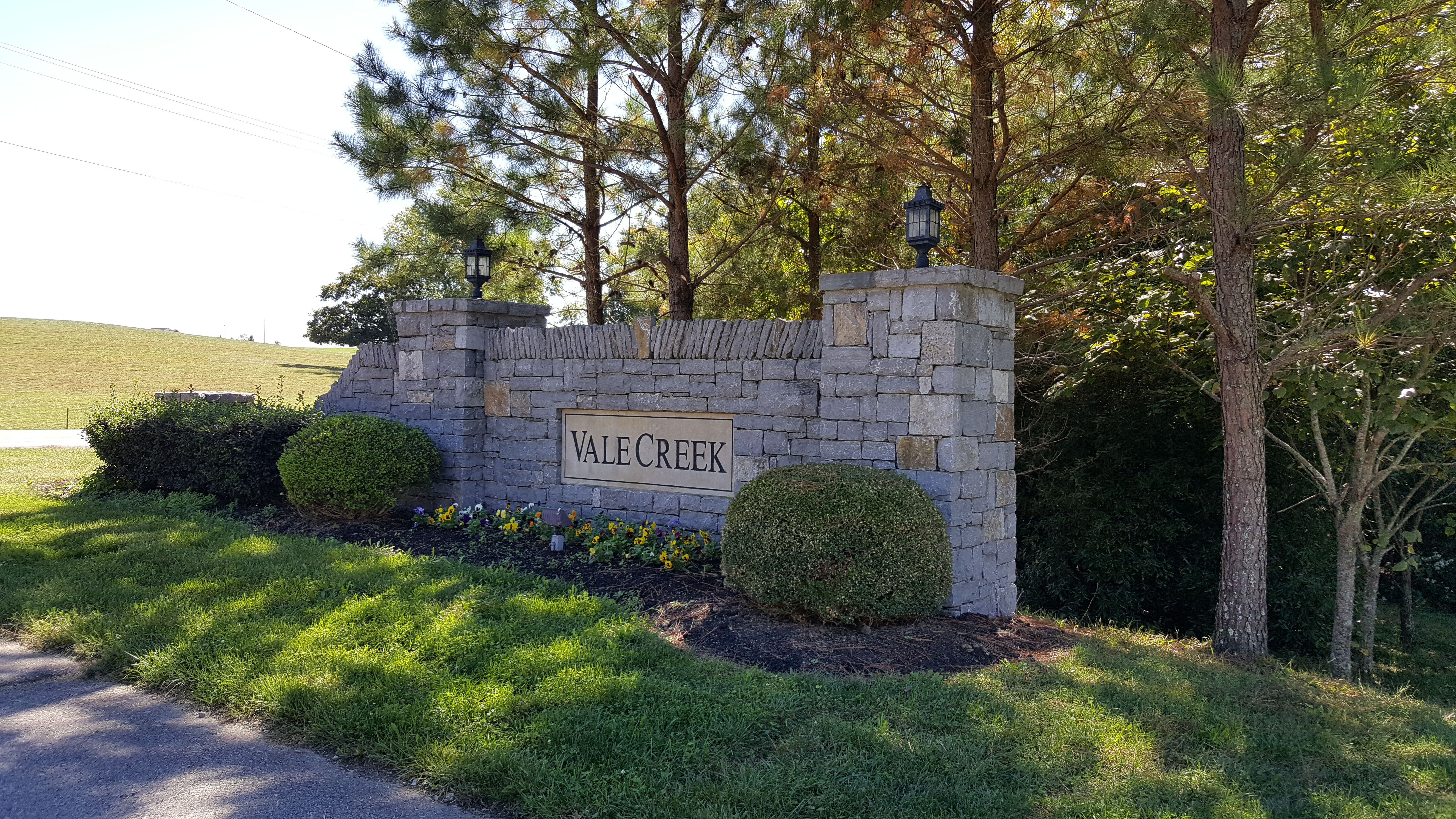 Vale Creek Subdivision complete list of homes for sale in Thompson's Station