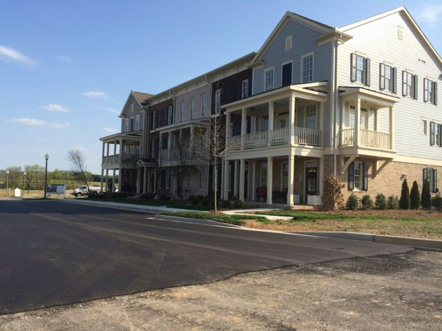 Berry Farms Condos get fresh black top roads