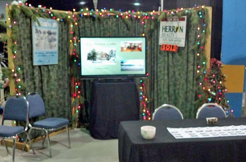 Herron Realty Snodeo booth