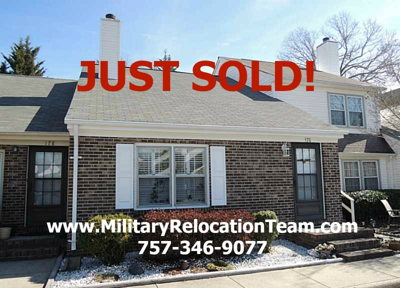 176 Tidal Drive Newport News VA 23606 JUST SOLD by Becky Schneider of The Hampton Roads Military Relocation Team