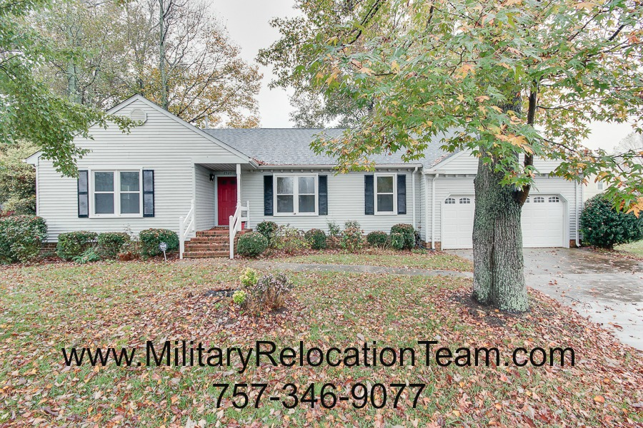 2529 Edgehill Ave. Virginia Beach VA 23454 FOR RENT by The Hampton Roads Military Relocation Team