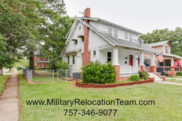 2801 Vimy Ridge Ave. Norfolk VA 23509 FOR RENT by The Hampton Roads Military Relocation Team