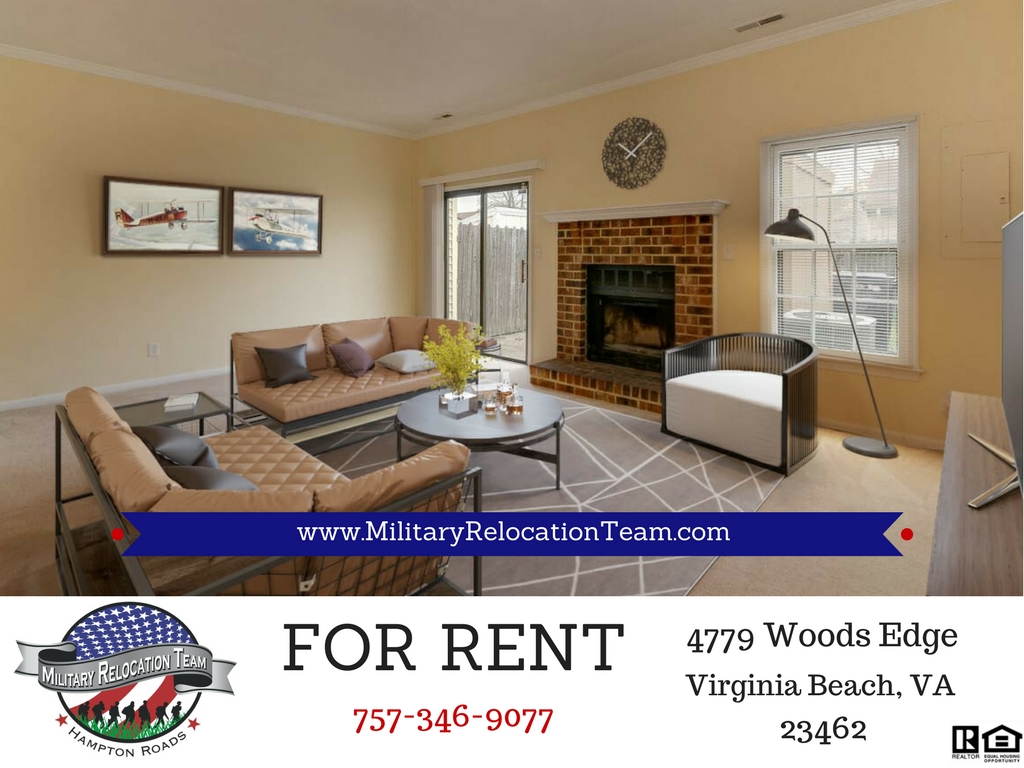 FOR RENT 4779 WOODS EDGE RD VIRGINIA BEACH 23462 by The Hampton Roads Military Relocation Team