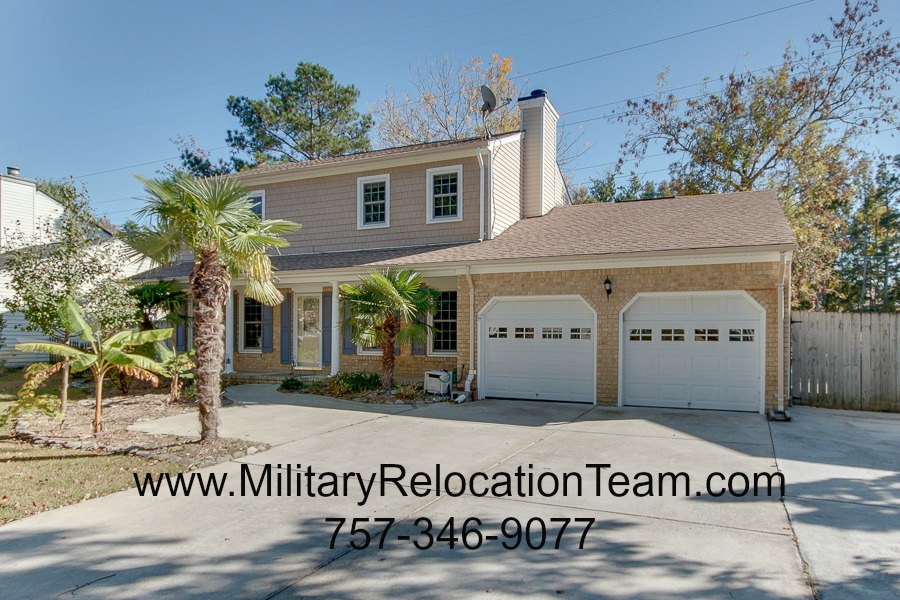 5224 Brockie Street, Virginia Beach VA 23464 FOR RENT by The Hampton Roads Military Relocation Team