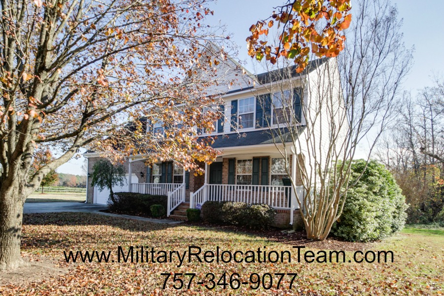 6912 Leyton Place Suffolk VA 23435 For Rent by The Hampton Roads Military Relocation Team