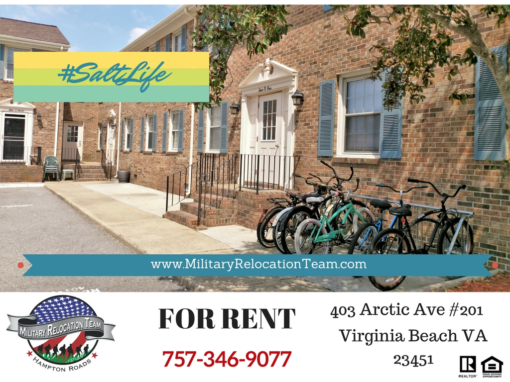 403 ARCTIC AVE #201 VIRGINIA BEACH VA 23451 FOR RENT by The Hampton Roads Military Relocation Team