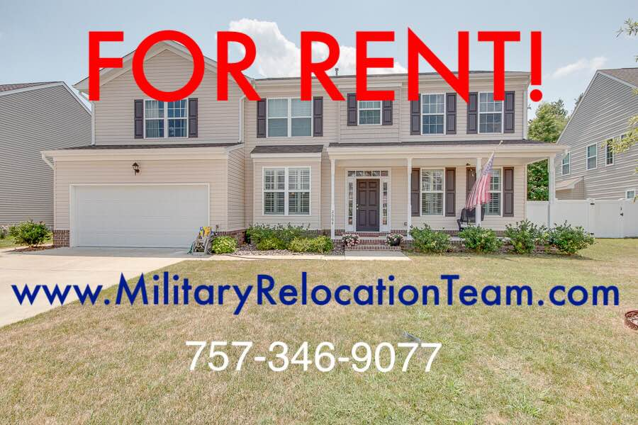 2064 BRECK AVE VIRGINIA BEACH VA 23464 FOR RENT by The Hampton Roads Military Relocation Team