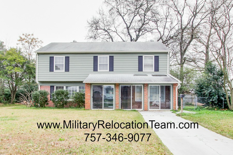 4732 Bunker Hill Lane Virginia Beach VA 23462 FOR RENT by The Hampton Roads Military Relocation Team!