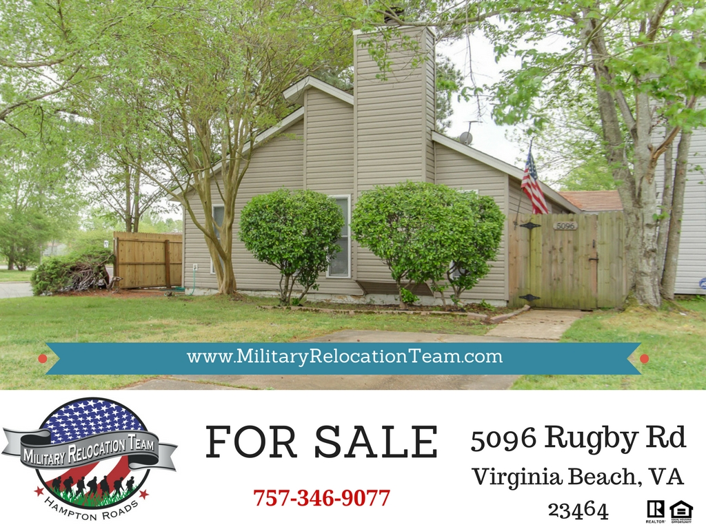 5096 RUGBY RD VIRGINIA BEACH VA 23464 FOR SALE