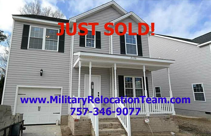 2128 Colorado Ave Portsmouth VA 23701 JUST SOLD by Taylor LaMay of The Hampton Roads Military Relocation Team!