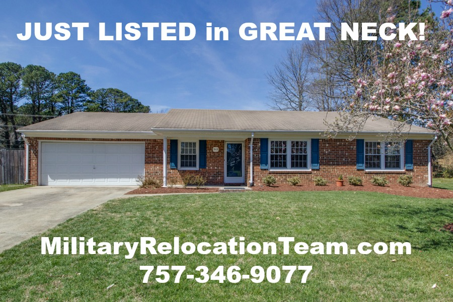 949 Earl of Essex Arch Virginia Beach VA 23454 JUST REDUCED by $20K!!!  For Sale by The Hampton Roads Military Relocation Team