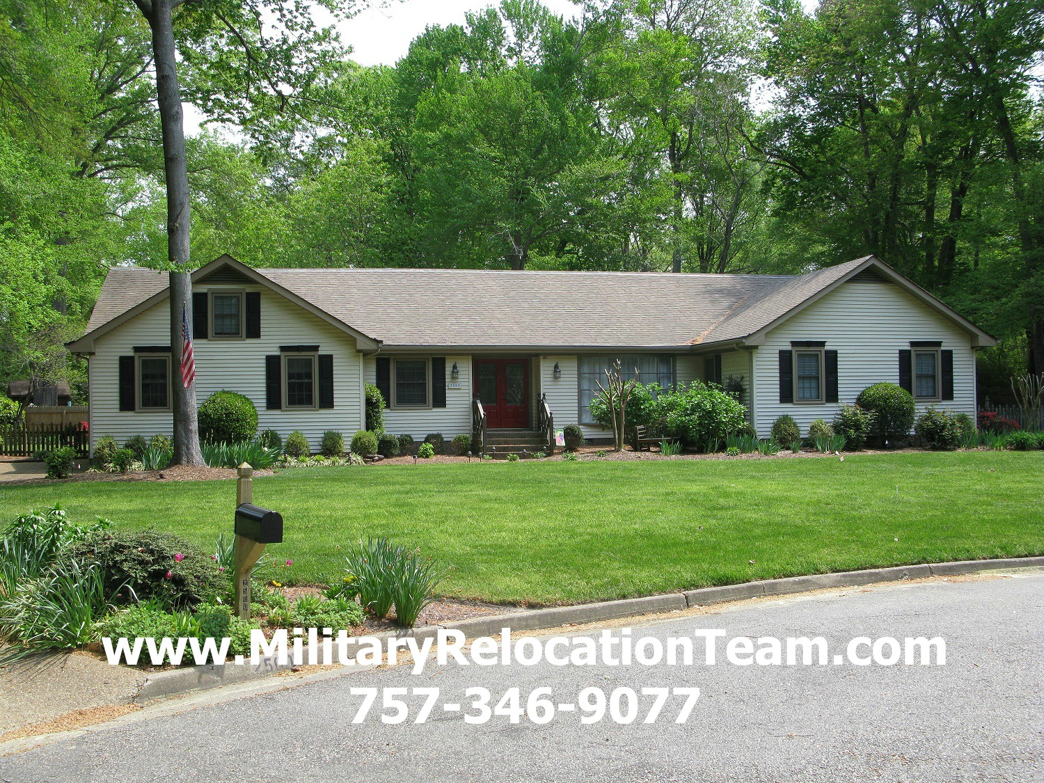 2500 San Marco Circle Virginia Beach VA 23456 For Rent by The Hampton Roads Military Relocation Team