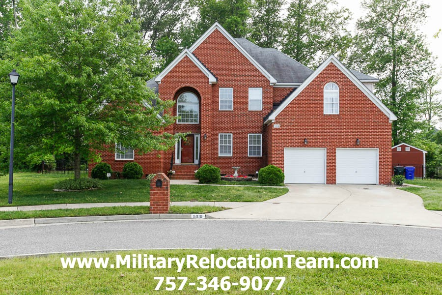 5010 Topsail Ct Suffolk VA 23435 Listed For Rent by The Hampton Roads Military Relocation Team