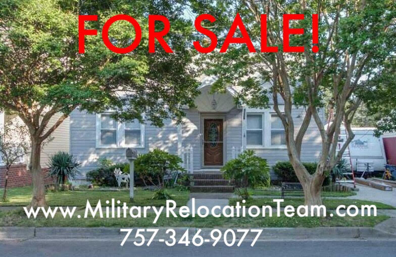 9226 PEACHTREE STREET NORFOLK VA, 23503 FOR SALE by The Hampton Roads Military Relocation Team!