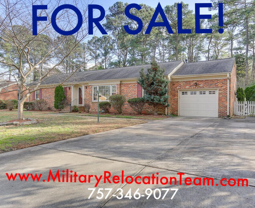 4805 THORNWOOD ST. PORTSMOUTH VA, 23703 FOR SALE by The Hampton Roads Military Relocation Team!
