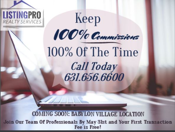 Attention Realtors: Keep 100% Of Your Commissions