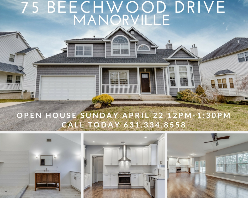 OPEN HOUSE ALERT: Fully Renovated Manorville Home