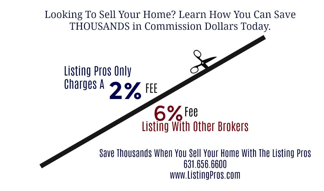 Save Thousands In Commission Dollars When You Sell Your Home With Us