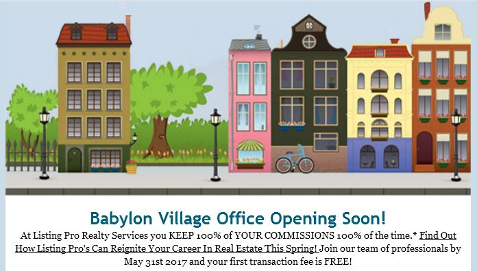 Babylon Village Office Coming Soon - Time To Join Our Team!