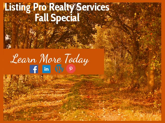 Listing Pro Realty Fall Special- Don't Miss Out!