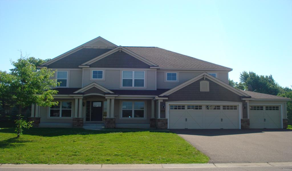 JUST LISTED! Beautiful 2-story in Blaine with 4 bedrooms on one level!