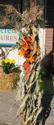 corn stalk decoration